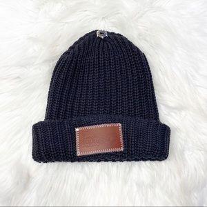 Love Your Melon Calgary Flames Knit Hat Black